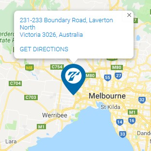 TT Logistics Location Melbourne